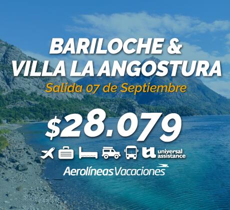 BARILOCHE & VILLA LA ANGOSTURA
