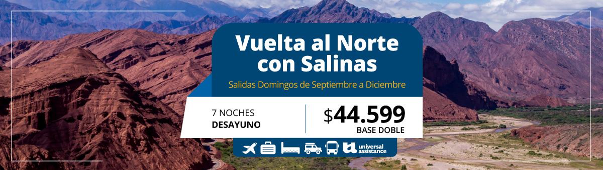 VUELTA AL NORTE CON SALINAS
