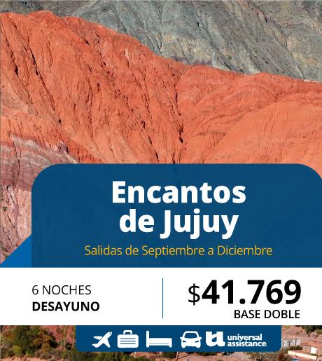 ENCANTOS DE JUJUY FLY & DRIVE