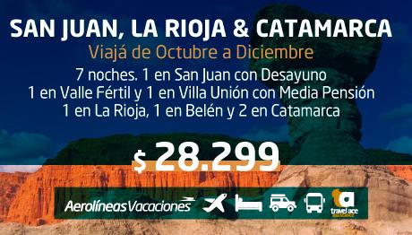 San Juan, La Rioja y Catamarca