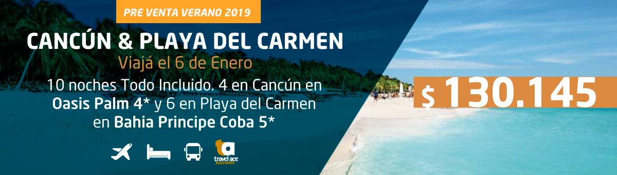 Cancún y Playa del Carmen