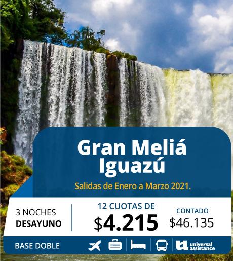 Iguazú, Finde largo de Octubre