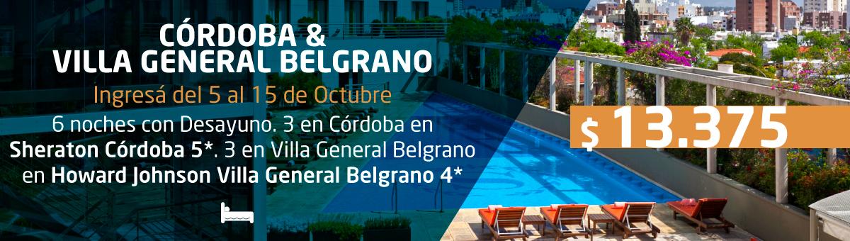 Córdoba & Villa General Belgrano